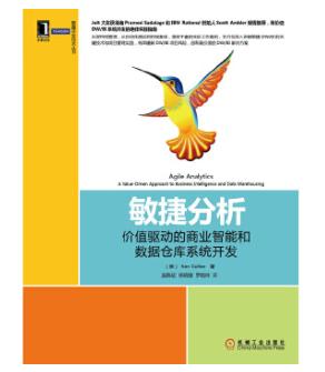 敏捷开发技术丛书:《敏捷分析 价值驱动的商业智能和数据仓库系统开发》