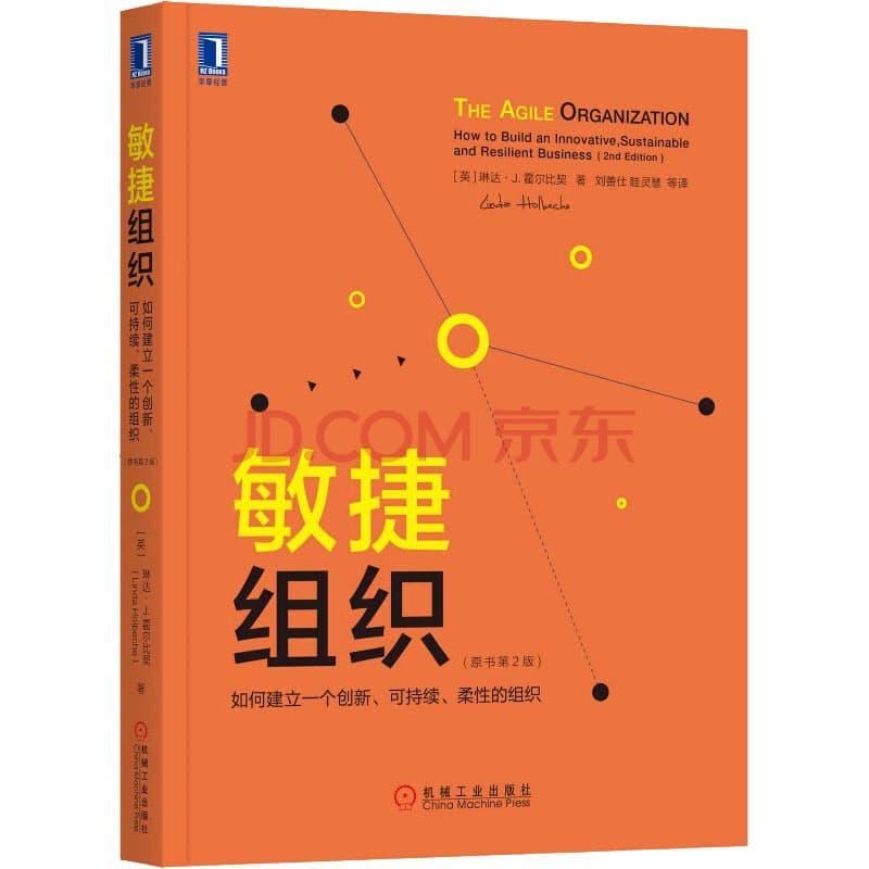 敏捷组织 如何建立一个创新、可持续、柔性的组织(原书第2版)
